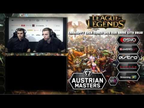 Austrian Masters League 2016 - League of Legends #4/6 - Alpaka eSports  vs. Austrian Force Insanity