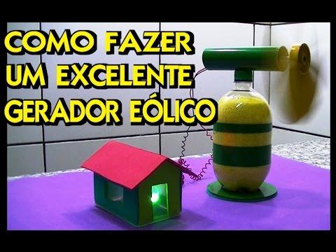 415b159b391 COMO FAZER UM EXCELENTE GERADOR EÓLICO RECICLADO - YouTube