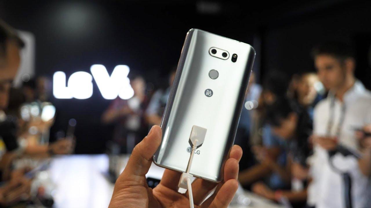 Быстрый обзор смартфона LG V30