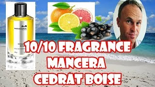 Fragrance Review - Mancera Cedrat Boise (vs Creed Aventus)