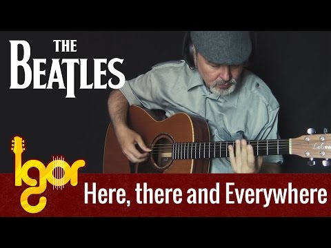 Here, There and Everywhere (The Beatles) - acoustic fingerstyle guitar cover