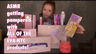 ASMR ~ Spa Pampering With EVA-NYC Products!