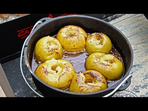 Baked Apples Recipe | Camp Chef