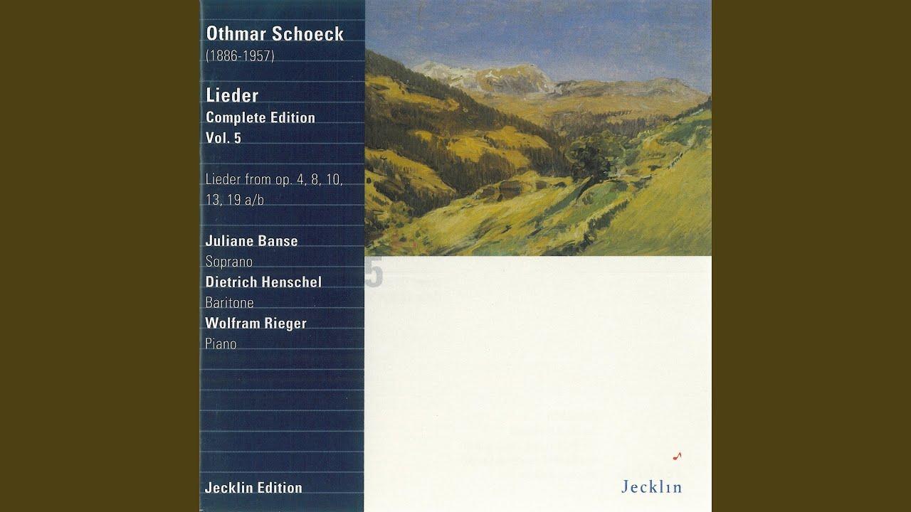 Vier Gedichte Von Hermann Hesse Op 8 No 1 Elisabeth