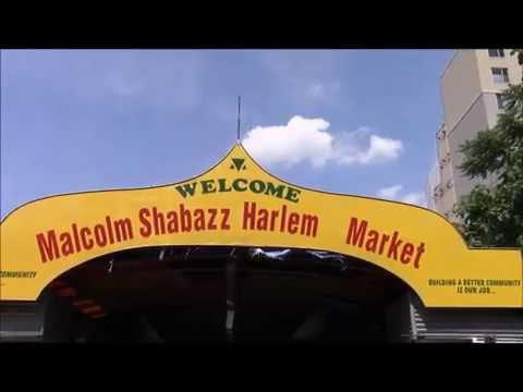ハーレムのマーケット / Malcolm Shabazz Harlem Market