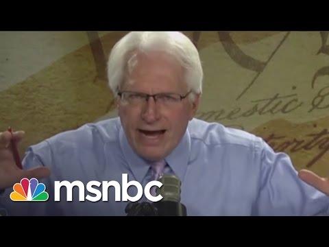 AFA Fires Bryan Fischer After Hitler, Homosexuality Remarks | Rachel Maddow | MSNBC