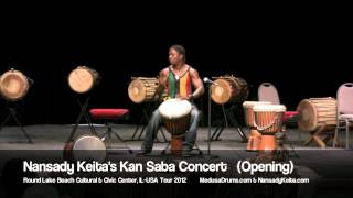 Nansady Keita's KanSaba Concert June 9, 2012