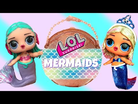 finding-lol-big-surprise-custom-mermaids-with-barbie-mermaid-queen