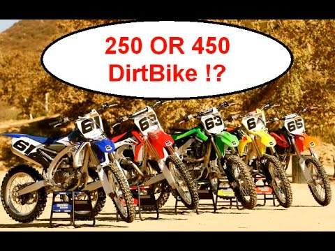 🤨 Do you really need a 450 Dirt bike - Best explanation I can give