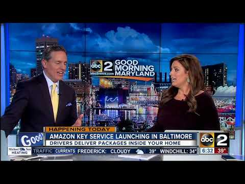 Amazon Key service launches in Baltimore Wednesday