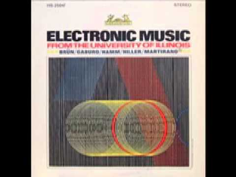 Electronic Music From The University Of Illinois