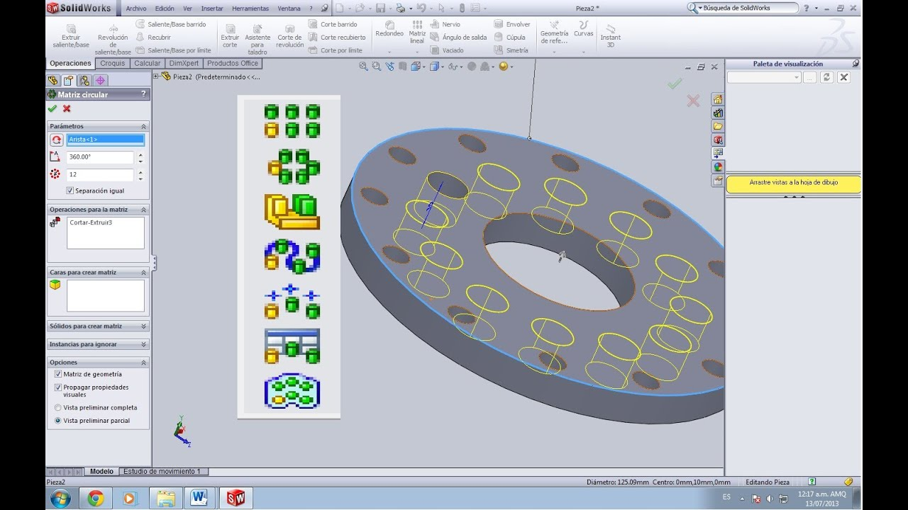 Solidworks 2013 Tutorial With Video Instruction by David Planchard