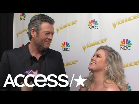 'The Voice': Kelly Clarkson & Blake Shelton Playfully Roast Each Other | Access