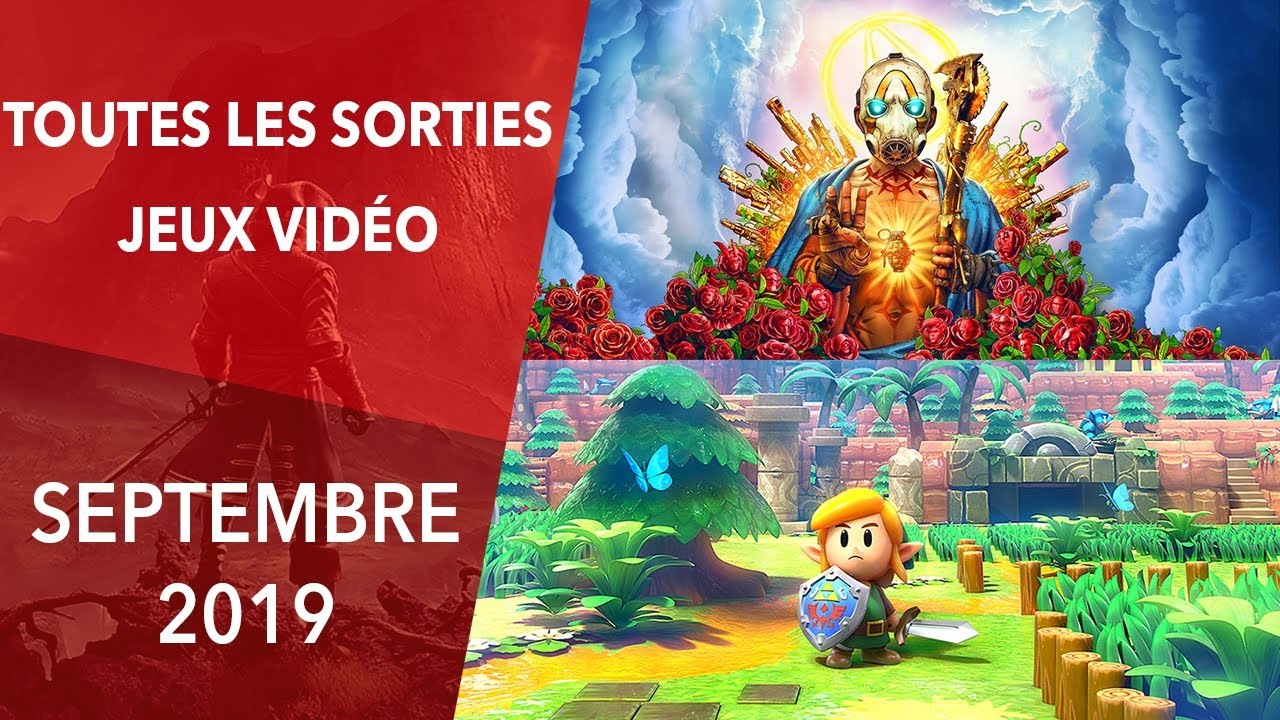 Calendrier Jeux Switch.Calendrier Les Sorties Jeux Video Septembre 2019