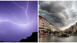 Rozlučte se s letním počasím: Do Česka dorazí déšť a mohutné bouřky
