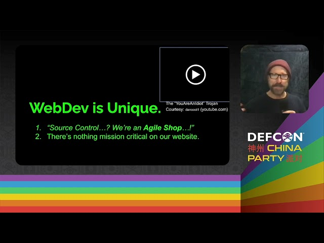 DEF CON China Party 2021 - Malware Included Imported 3d Party JS as Attack Vectors - Michael Schrenk