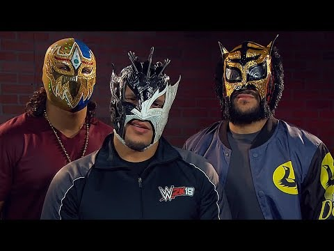 Kalisto Gran Metalik And Lince Dorado Quot Lucha House Party