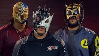 "Kalisto, Gran Metalik and Lince Dorado ""Lucha house party"" Ft. Best Luchadors"