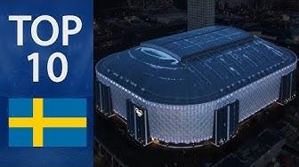 Top 10 Biggest Stadiums in Sweden