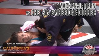 FIVE Grappling California 2: Mackenzie Dern vs Chelsea Donner (Women Brown/Black LW Final)