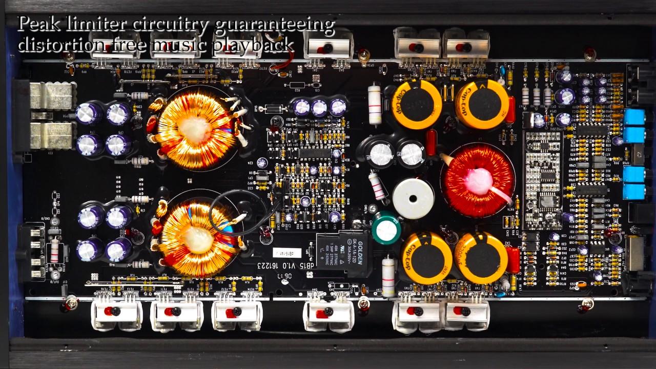 Rockville Db15 6000 Watt 3000w Rms Mono Class D 2 Ohm Car Audio Dual Subwoofer Wiring Amplifier