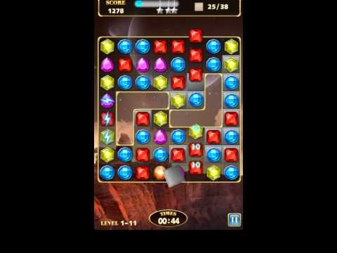 Jewels Star 3 Gameplay Walkthrough - Level 11 for Android/IOS