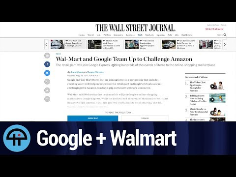 Google & Walmart vs Amazon & Whole Foods