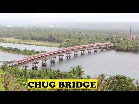 WDP3A TVC Rajdhani Sharavathi River Bridge
