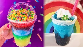 Disney Drops NEW 'Inside Out' Inspired Rainbow SLUSHIES at Pixar Pier