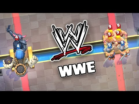 Clash Royale WWE | Who's the Strongest ?
