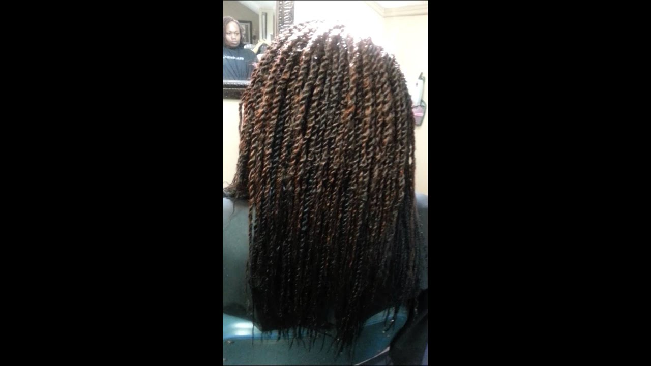 Crochet Hair Jackson Ms : Crochet braids kinky twist femi/ Janet Marley hair - YouTube