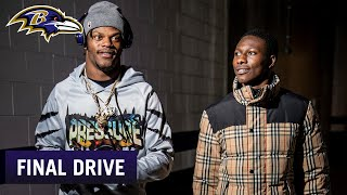 Final Drive Lamar Jackson's Playoff Advice for Hollywood Brown | Baltimore Ravens