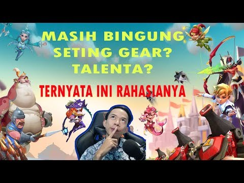 RAHASIA TALENTA DAN GEAR BIAR PAHAM ! ! ! | LORDS MOBILE INDONESIA