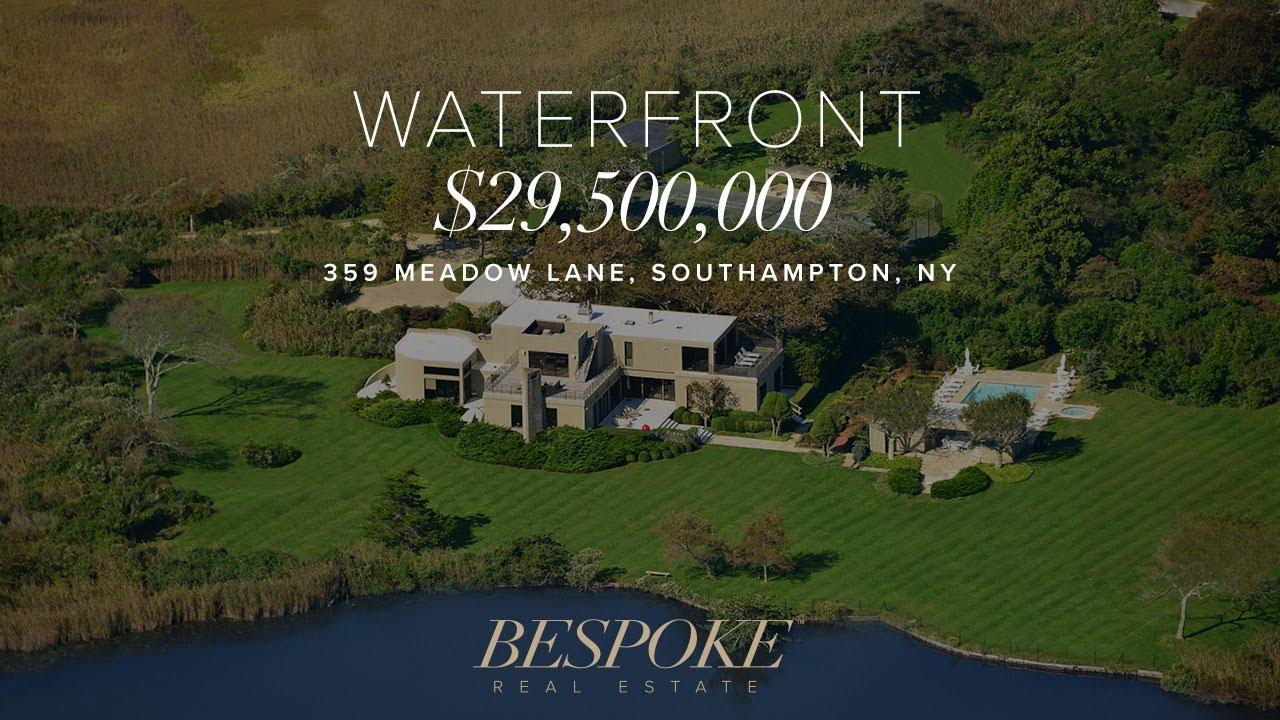 359 Meadow Lane Southampton Ny Hamptons Real Estate Youtube