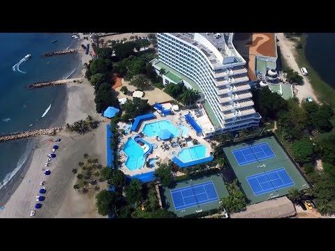 Hilton Cartagena Hotel Aerial Views