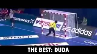 Vídeo com alguns lances da nossa mão de ferro seleção brasileira handebol feminino: duda!!