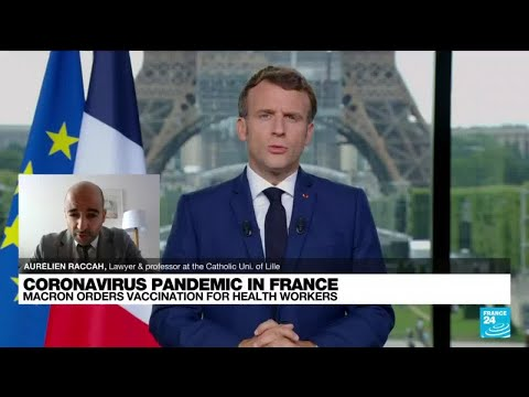 Is Mandatory vaccination for French health workers legal? • FRANCE 24 English