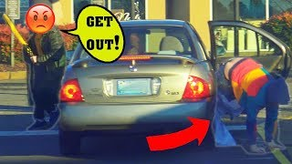 Sneaking Into Peoples Cars Prank Part 3