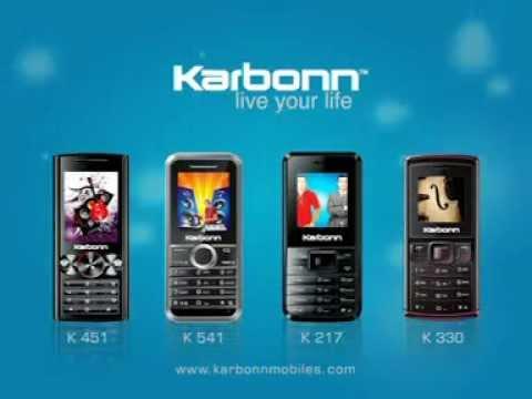 Karbonn Mobiles - K451, K541, K217, K330