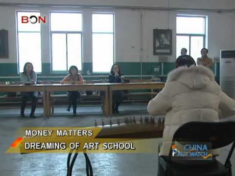 Dreaming of art school in China - China Price Watch - December 10, 2013 - BONTV China