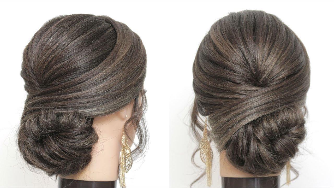 Elegant Prom Wedding Updo Tutorial Hairstyles For Long And Medium Hair