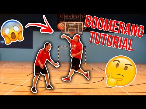 HOW TO DO THE 2 HANDED BOOMERANG STREETBALL MOVE