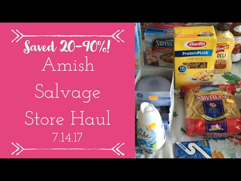 Our AWESOME Amish Salvage Store Haul