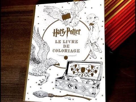 Coloriage Anti Stress Harry Potter.Livre De Coloriage Anti Stress Harry Potter