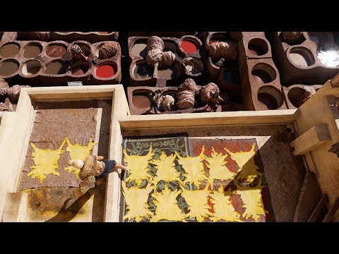 SHOCKING! 💩 Morocco Leather making Secrets | Fez Travel Vlog
