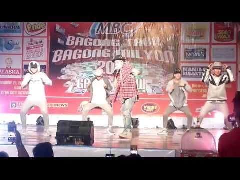 Kris Lawrence Performing At Star City MBC's Bagong Taon Bagong Milyon Grand Draw #24kMagic 1-21-17