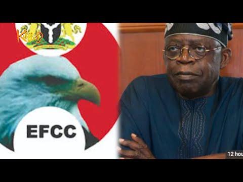 2023:  EFCC Goes After Bola Tinubu For Corruption