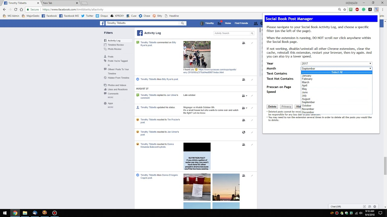 How to Delete Facebook Posts in Bulk With Chrome or Firefox