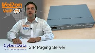 CyberData VoIP V3 Paging Server Review / Unboxing