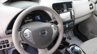 Nissan Leaf 2012 из США за 7200€